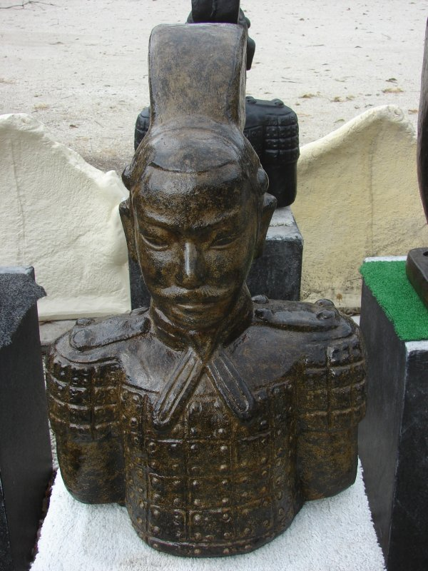 Chinese Warrior Bust (click to enlarge)
