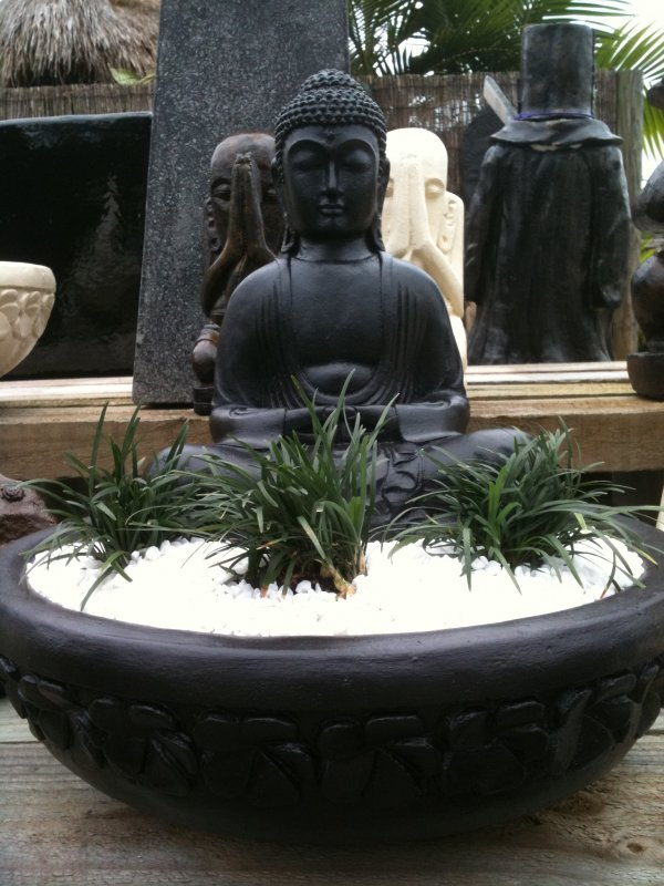 Small Sitting Buddha Bowl (click to enlarge)