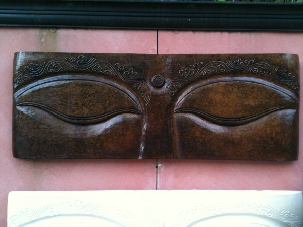 """Eyes"" Wall Plaque (click to enlarge)"