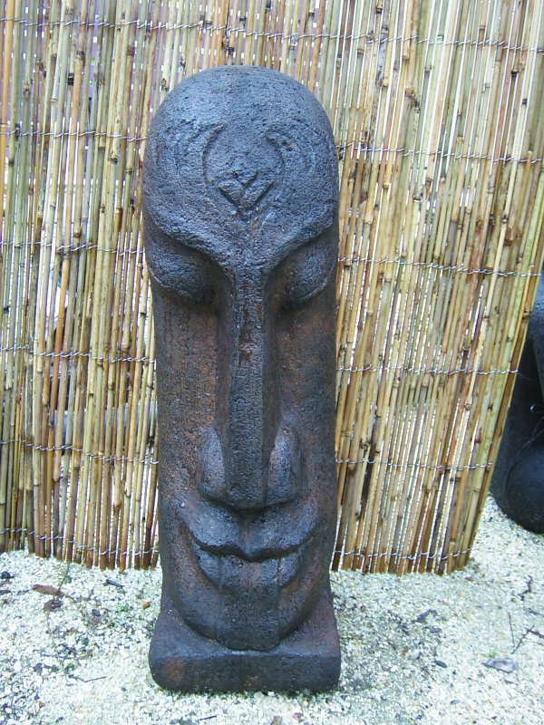 Large Easter Island Head (click to enlarge)