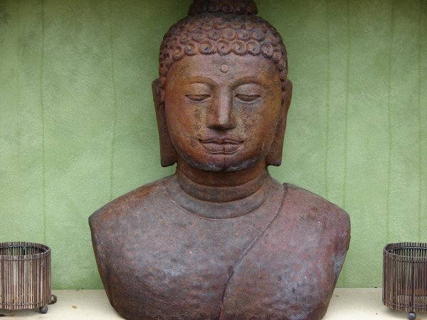 Buddha Bust (click to enlarge)