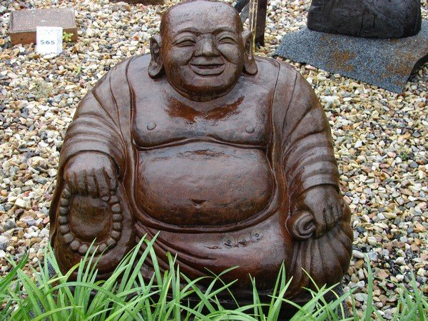 Large Happy Buddha (click to enlarge)